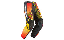 Fly Racing F16 LTD Pantalon homme jaune/noir
